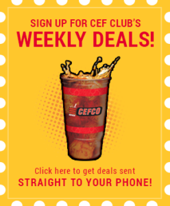Cefco deals and promotions