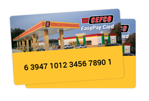 CEFCO-CardsPoster EasyPay Gas-Savings