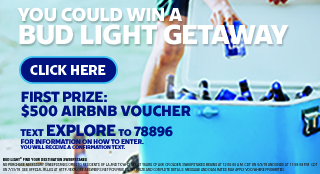 ENTER to win a Getaway from CEFCO and Budlight